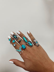 The Turquoise Shield Ring