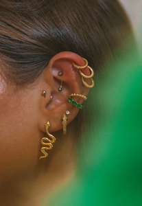 The Snake Drop Studs