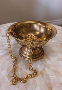 Gold Jewelry Dish