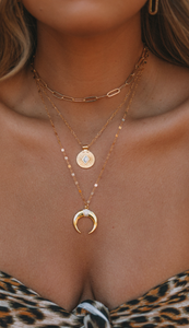 The Gold Horn Necklace
