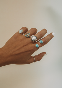 The Turquoise Cluster Ring