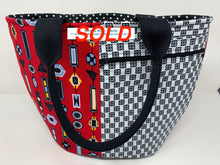 Load image into Gallery viewer, Crescent Tote Bag - Shoulder Straps £1 FROM EACH ITEM SOLD WILL GO TO 'THE HUB BEEDING'