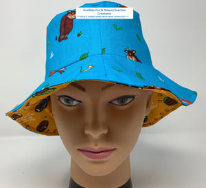 'GRUFFALO' Hats, FaceCoverings, - £1 FROM EACH ITEM SOLD, WILL GO TO CHARITY -  'THE HUB BEEDING' (see photos in this section for The Hub details)