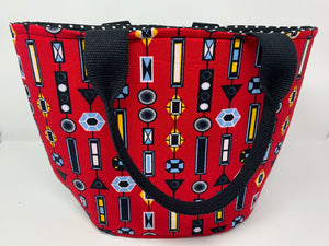 Crescent Tote Bag - Shoulder Straps £1 FROM EACH ITEM SOLD WILL GO TO 'THE HUB BEEDING'