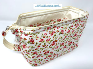 Cosmetic Bags - soft standing -(Sunshine Sale 20% automatic discount) - £1 from each item sold will go to 'CHESTNUT TREE HOUSE, CHILDRENS' HOSPICE' WORTHING