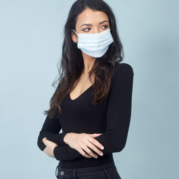 Purimask Single Use Non-Medical Surgical Style Face Mask