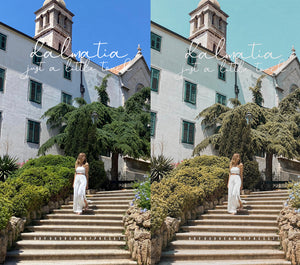 NEW! CROATIA Collection Lightroom Mobile Presets