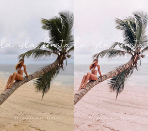 TROPICAL Collection Lightroom Mobile Presets