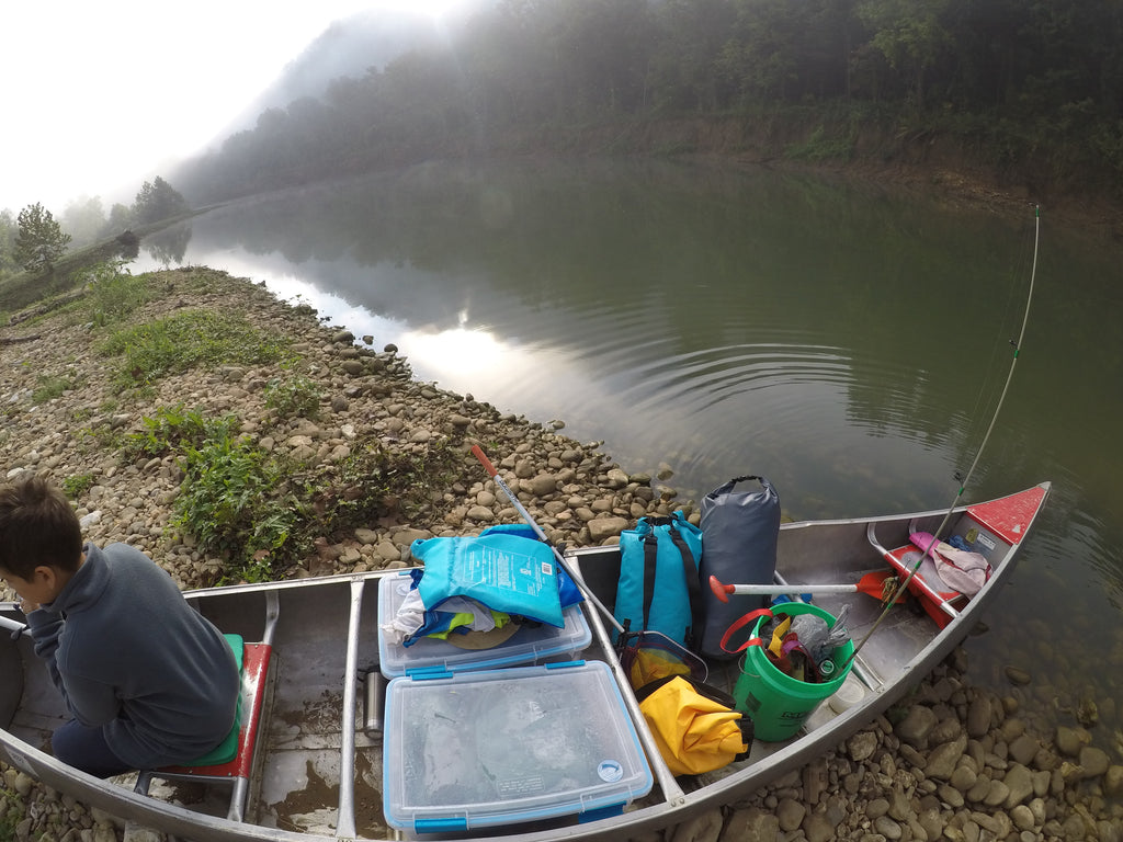 Canoe packing