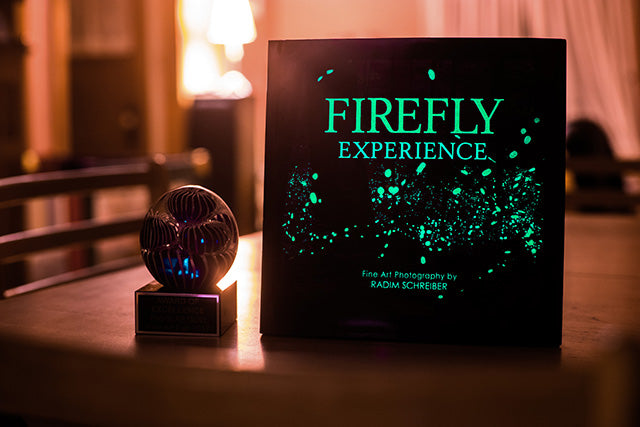 Firefly Experience Book Glow in the dark cover