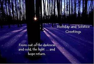 Light at the End of the Tunnel: Winter Solstice