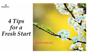 4 Tips to Maximize a Fresh Start