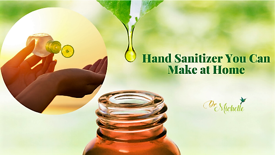 Hand Sanitizer You Can Make at Home with Essential Oils