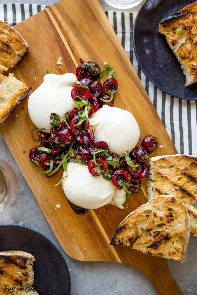 Fall In Love With Creamy Burrata Cheese This Summer