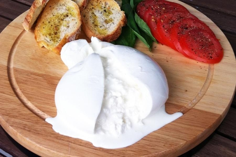 Food for Thought: Burrata Cheese