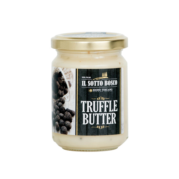 Pure Italian Butter with Black Truffle - Large 450gr Jar