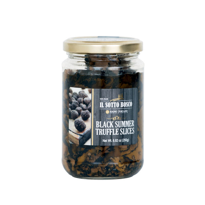 Black Summer Truffle Carpaccio with Olive Oil  180gr Jar