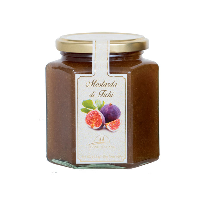 Mostarda Di Fichi - Spicy Fig Mustard - Jar