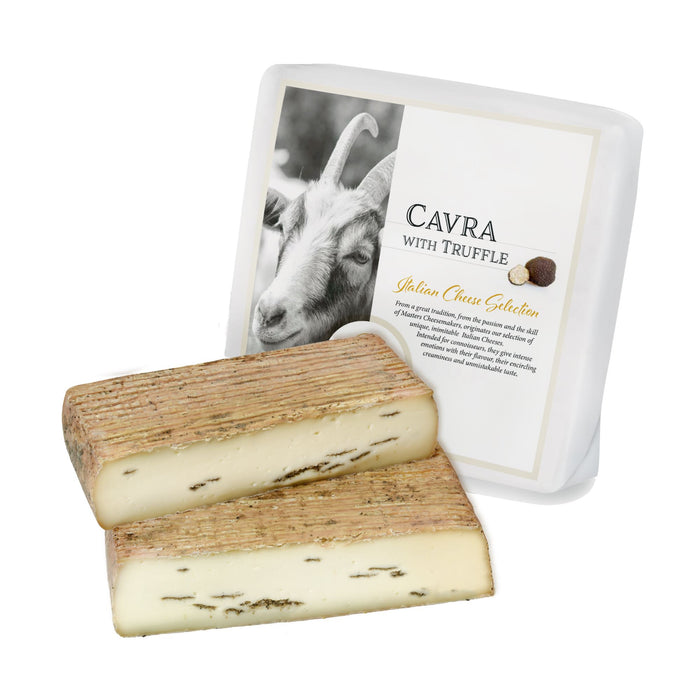 Cavra Goat Cheese with Truffle - 5lbs approx