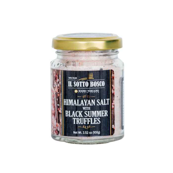 Pure Himalayan Pink Salt With Black Truffle 100gr Jar