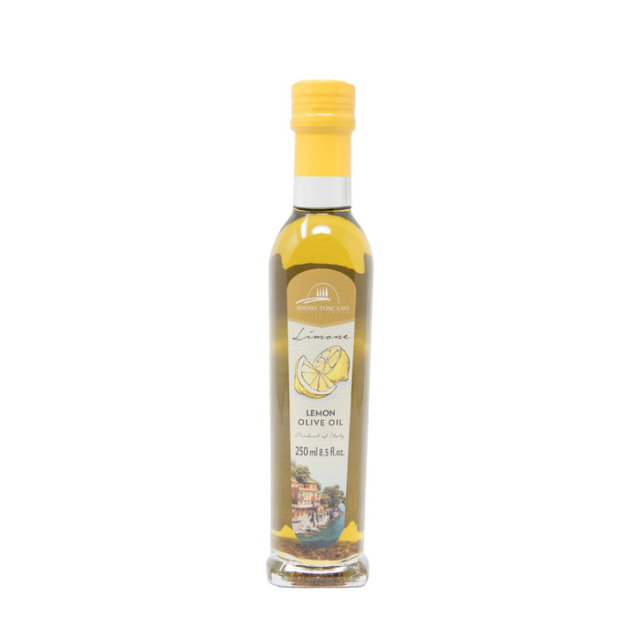 Lemon Oil 250ml (8.5floz) Glass Bottle