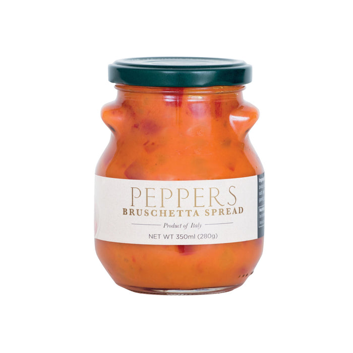 Red Peppers - Bruschetta & Focaccia Spread 280gr Jar (10oz)