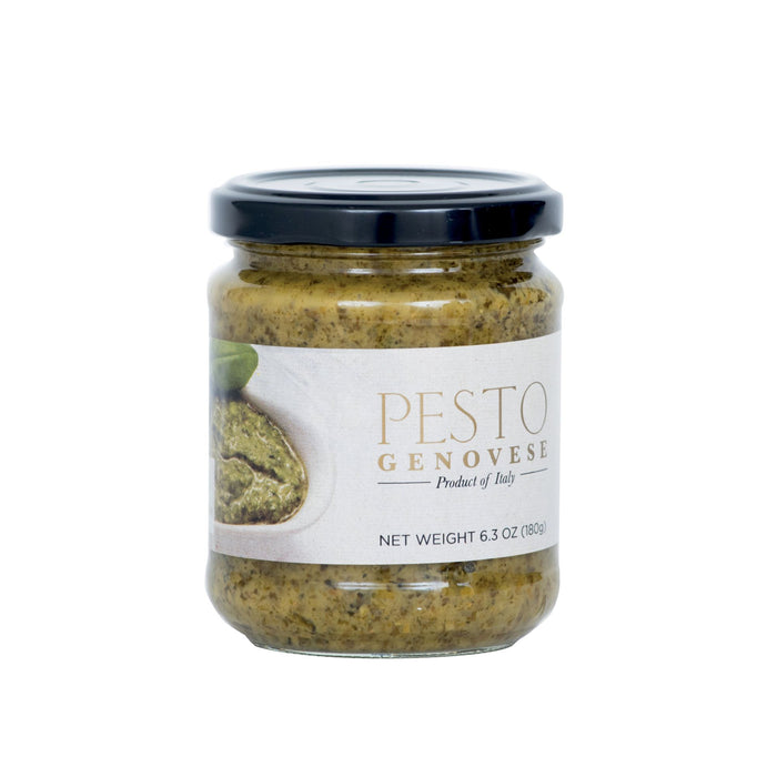 Pesto Genovese with Crushed Garlic 180gr (6.5oz) Jar