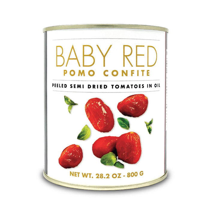 Baby red confit Unique Sweet tomatoes 800gr Can