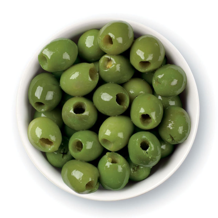 Pitted Green Castelvetrano Cocktail Olives 2.5kg (5.5lbs) Can