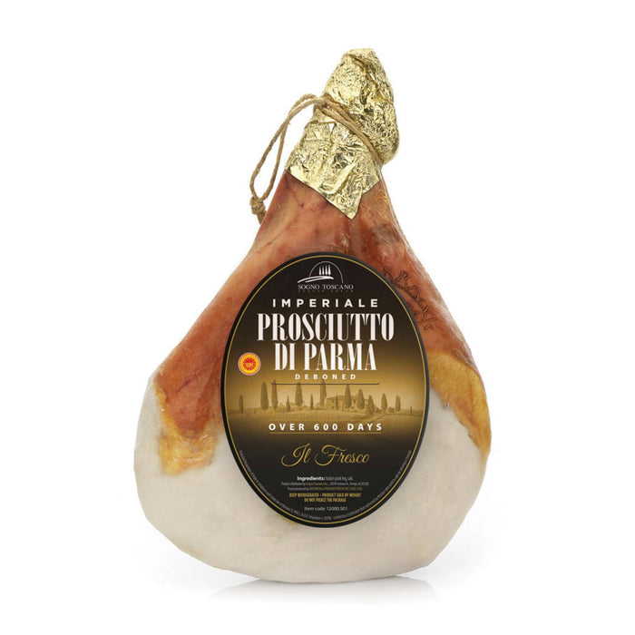 Prosciutto Crudo di Parma PDO Aged 24 Months - Cured Pork - 16lbs approx