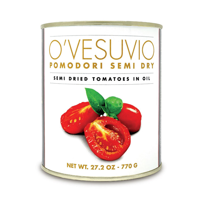 O' Vesuvio Semi-dry tomatoes for Salands topping 770gr Can