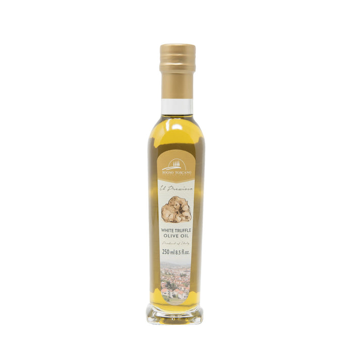 100% Infused White truffle oil 250ml Glass Bottle - BurrataHouseStore