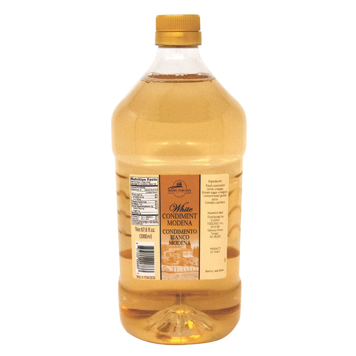 White Balsamic Vinegar 2lt (2.10 Qts) Bottle