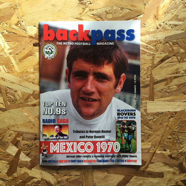 Backpass: The Retro Football Magazine #70