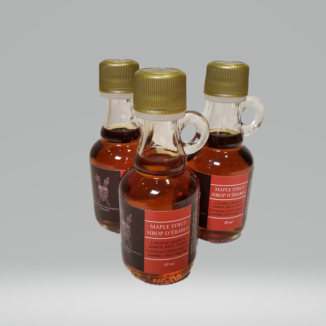 Maple Syrup (40 ml) | Sirop d'érable (40 ml)