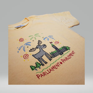 Friendly Moose Tee | T-shirt Orignal gentil