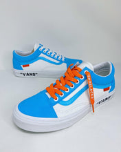 "Load image into Gallery viewer, UNC Blue ""Vans"""