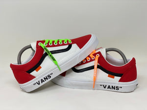 "Chicago Red ""Vans"""