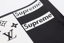 Load image into Gallery viewer, Custom Supreme LV Stencil (2 sheets)
