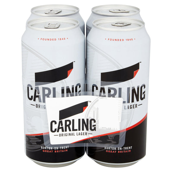 4 x Cans of Carling
