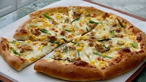 Tuna and Sweetcorn pizza