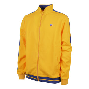 E9-641-1 | ANGELES-STRIPED HEM TRACK JACKET YELLOW