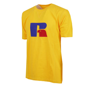 E9-651-1 | JERRY - S/S FLOCK TEE YELLOW