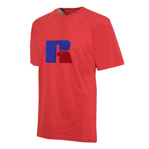 E9-651-1 | JERRY - S/S FLOCK TEE RED