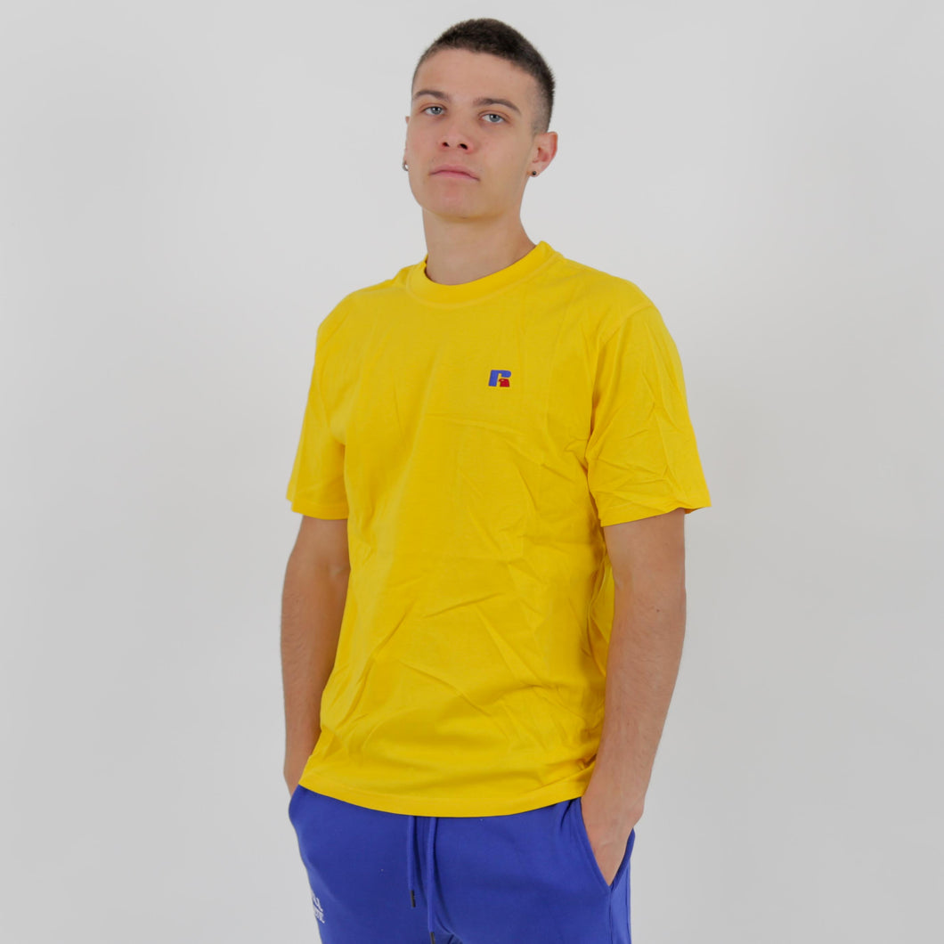 E0-600-1 BASELINER - TEE SHIRT YELLOW