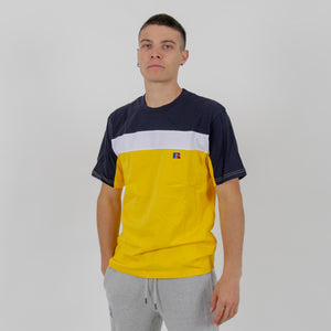 E0-607-1 OSCAR - CUT & SEW TEE SHIRT YELLOW