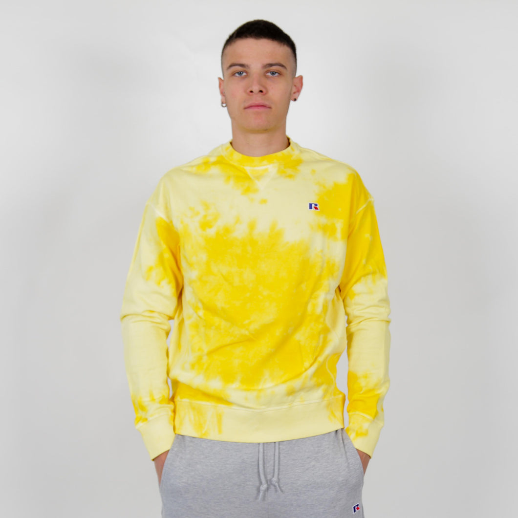 E0-623-1 GEORGE-CREWNECK SWEATSHIRT YELLOW