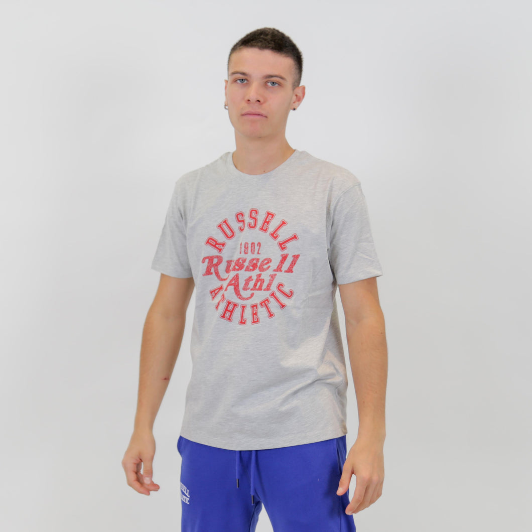 A0-007-1 RUSSELL ATHLETIC S/S CREWNECK TEE SHIRT