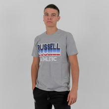 Load image into Gallery viewer, A0-032-1 LAYERED RUSSELL S/S CREWNECK TEE SHIRT