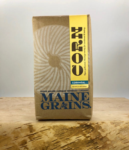 Maine Grains - Organic Corn Meal
